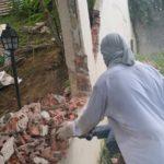 Demolition/Hacking of Wall